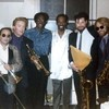 Elson with Eddie Kendricks and David Ruffin of the Temptations