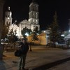 Gig on the town square in Saltillo Mexico with Hazmat Modine