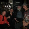 with Garth Hudson, Danny Louis and Pam Fleming