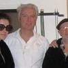 Elson with David Byrne and Annie Clark (St. Vincent)