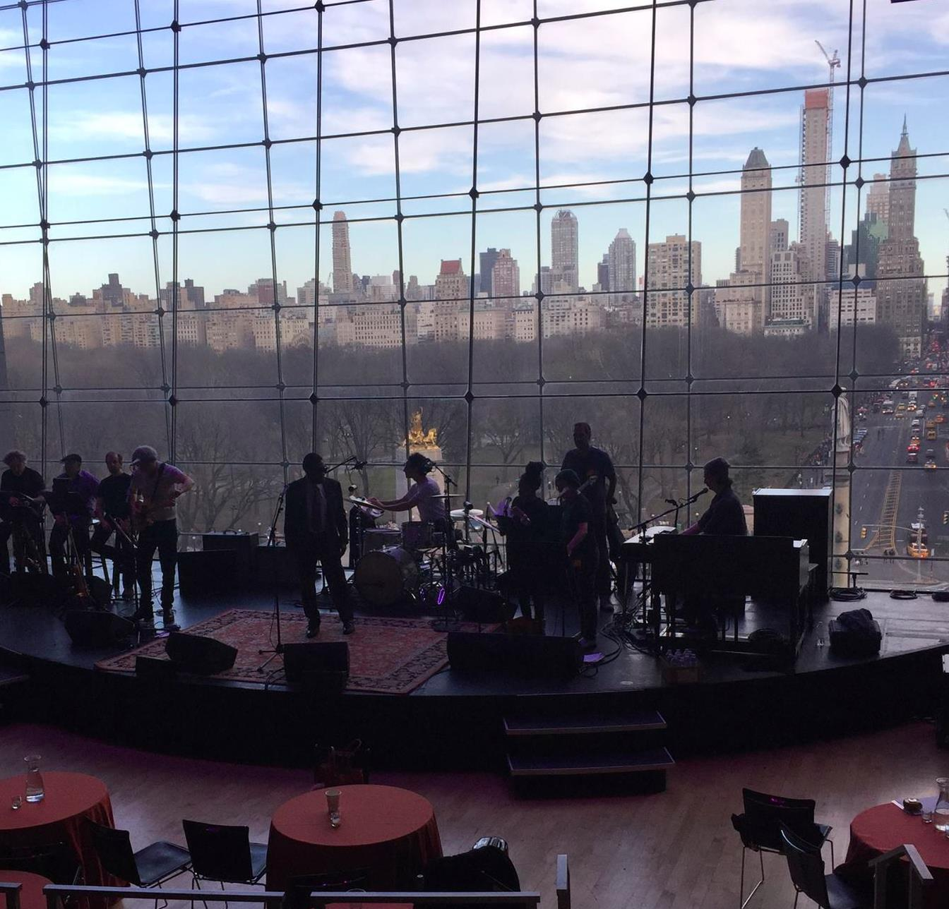 Playing with William Bell at Jazz at Lincoln Center