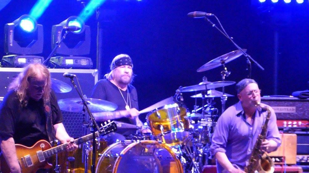 Sitting in with Gov't Mule at Central Park's Summerstage